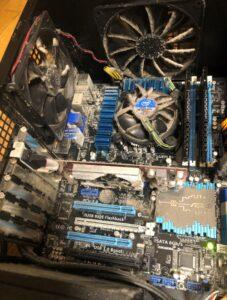 PC内部のホコリ